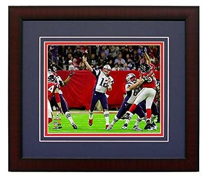 de532f17e New England Patriots Tom Brady During The Super Bowl LI. Framed 8x10 Photo  Picture.