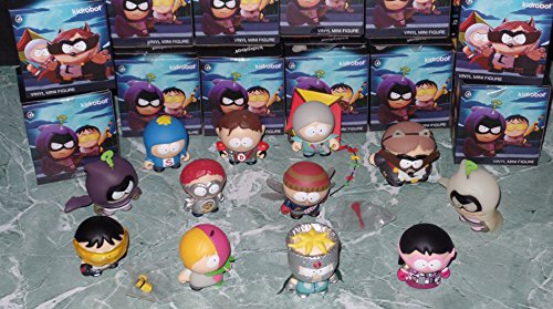 Vinyl Figure Kidrobot (Kidrobot South Park The Fractured But Whole Complete Full Set of 12 Vinyl Figures Includes Chase 3 Inch Mini Series)