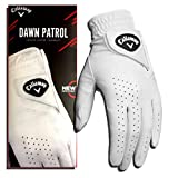 Callaway Golf Men's Dawn Patrol 100% Premium Leather Golf Glove, Worn on Left Hand, Large