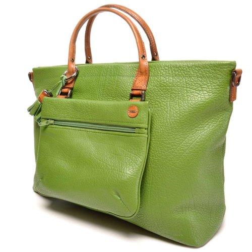 berba Chamonix - Doppelhandtasche in grün