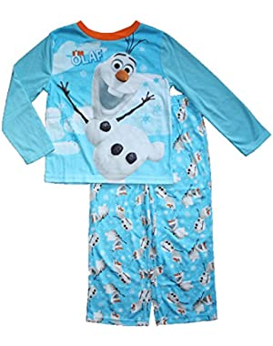 Little Boys' Frozen Olaf Pajama set