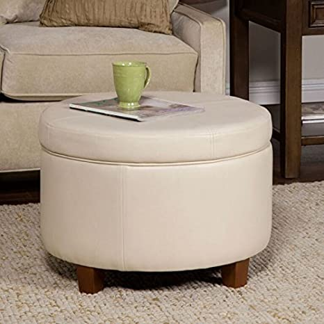 Phenomenal Amazon Com Nova Natural Large Tufted Ottoman Chair Storage Pabps2019 Chair Design Images Pabps2019Com