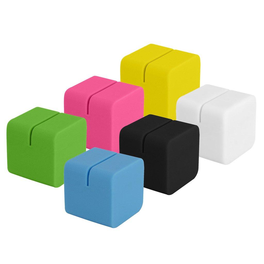 6 Colorful Cubic Photo Stands For Fuji Instax Mini 9, 26, 8, 7 Instant Camera Polaroid PL-2X3CS-76