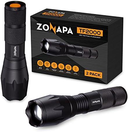 ZONAPA Flashlight Ultra Bright Emergency Waterproof product image