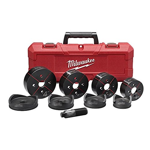 Milwaukee 49-16-2695 M18 Exact 2-1/2'' to 4'' Knockout Set by Milwaukee