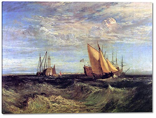 Confluence of The Thames and The Medway by Joseph Mallord William Turner - 16