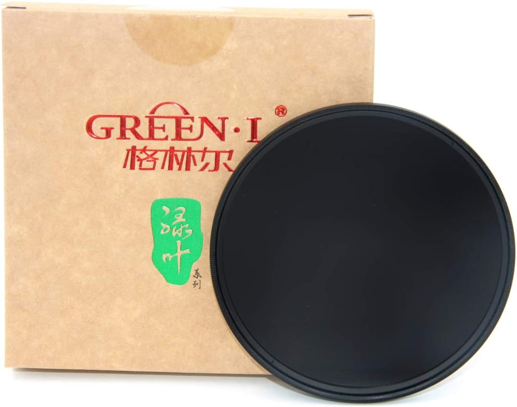 GREEN.L 37mm ND1000 Filter Slim Neutral Density ND Filter Optical Glass 10 Stop