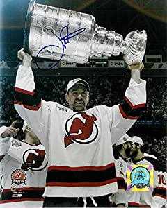 Joe Nieuwendyk Signed Photo - NJ 8x10 2003 CUP - Autographed NHL Photos
