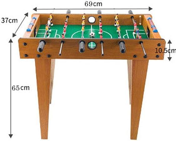 YQSHYP Clásico Futbolín, Mesa Profesional Partido de fútbol, con ...