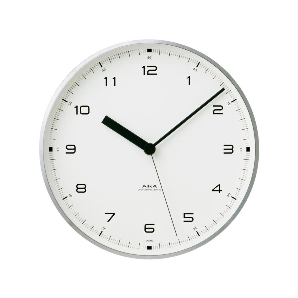Lemnos Urban clock シルバー LC10-03 SL B003DZDSBC シルバー シルバー