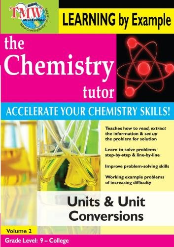 Chemistry Tutor:  Learning By Example - Units and Unit Conversions ()