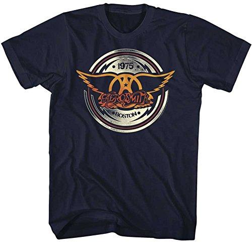 For Shirt Navy Aerocircle Aerosmith Men qUOFnf