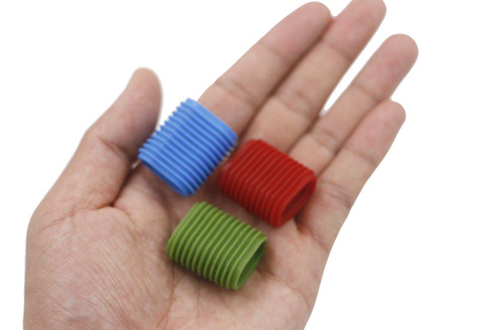 【おまけ付】 リールハンドルカバー釣りリールグリップノンスリップノブ B0747SHVS2、ブルー、グリーン、レッド可能 Red&Blue&Green B0747SHVS2, ライフファブリック:80ebafab --- a0267596.xsph.ru