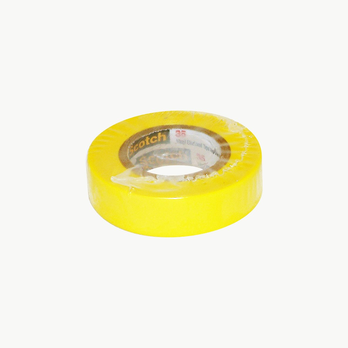 0 to 221 Degree F 1250V//mil Dielectric Strength 3M Scotch 35 Polyvinyl Chloride Color Coding Electrical Tape 20 Length x 1//2 Width Yellow 20/' Length x 1//2 Width 10257
