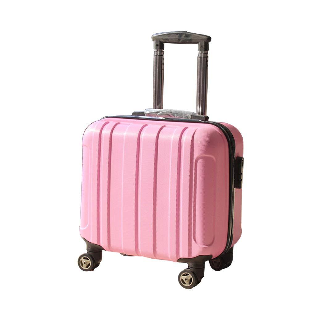 スーツケース超軽量ABSハードシェル旅行は4つのホイール、航空&詳細情報のために承認されたハードシェルトロリーサイズのアドオンキャビンハンド荷物スーツケースキャリー   B07P7KP7DY