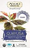 Numi Organic Tea Guayusa, 16 Count Box of Tea Bags, Holistic Herbal Teasan