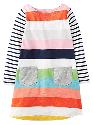 Fiream Girls Cotton Casual Dress by Fiream