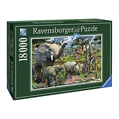 Ravensburger 17823 David Penfound At The Waterhole Puzzle Da 18000 Pezzi