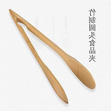 Xing Lin Ensalada Pinzas BakerS Kitchen Bambú Clip Comida Barbacoa Carne Asada Clip Ensalada De Verduras