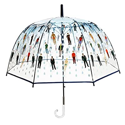 """""""Raining Men"""" - Bubble Dome Umbrella - Funny and Functional Novelty Gift Idea for Women or Men"""
