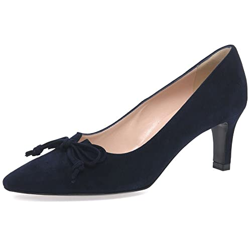 Peter Kaiser Malana, Zapatos de Tacón con Punta Cerrada para Mujer, Blau (Notte Suede), 39.5 EU