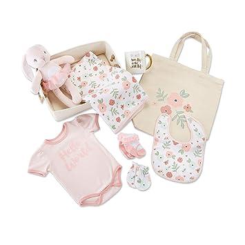e390ec020c0d6 Amazon.com : Baby Aspen Fancy Floral 9 Piece Baby Gift Basket : Baby