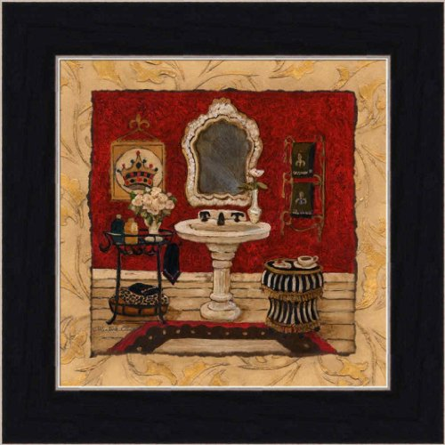 Beau New Orleans Spa Luxe III By Charlene Olson Chic Bathroom Decor Framed Art  Print Picture Wall Decor