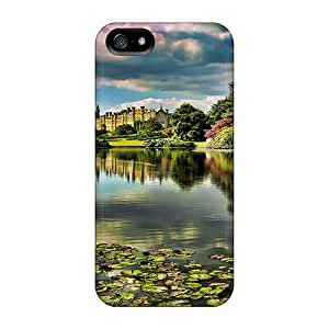 New Diy Design Beautiful Garden Lake For Iphone 5/5s Cases Comfortable For Lovers And Friends For Christmas Gifts