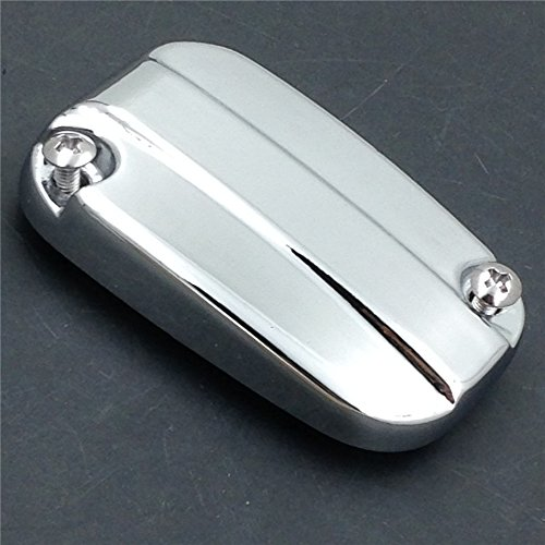 XKH- Motorcycle Chrome Front Brake Fluid Reservoir Cap For 2007-2015 Harley Davidson Electra Glide Road by XKH-MOTO