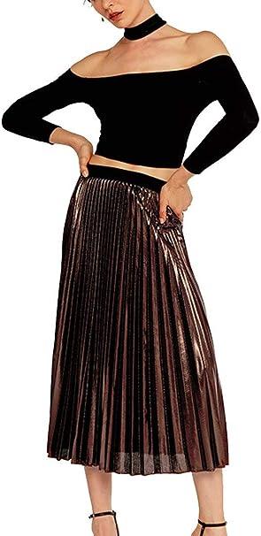 Faldas para Mujer Casual De Moda Falda Verano para Mujer Moda ...