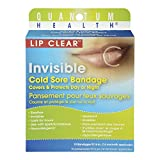 Quantum Health Lip Clear Invisible Cold Sore Bandage, 12 Count
