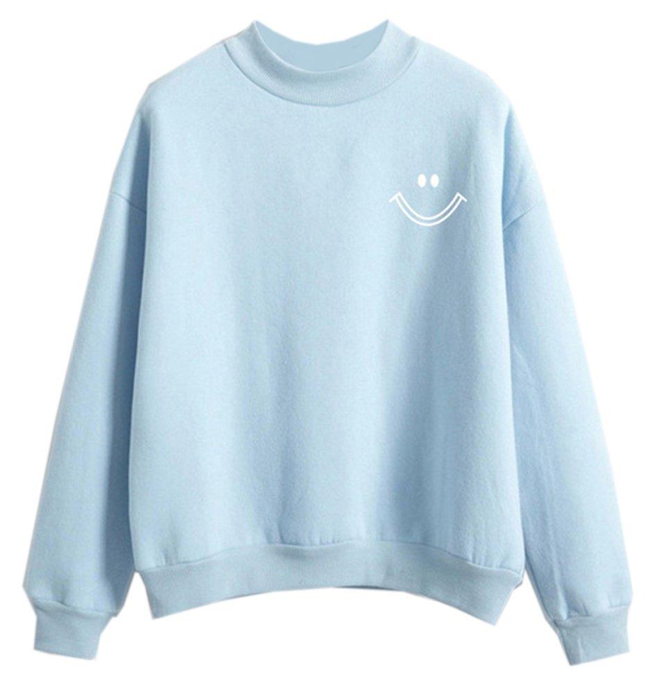 Fashiononly Sweatshirt Teen Girls Kawaii Sweater Women Cute Clothes Korean Casual Fashionoly