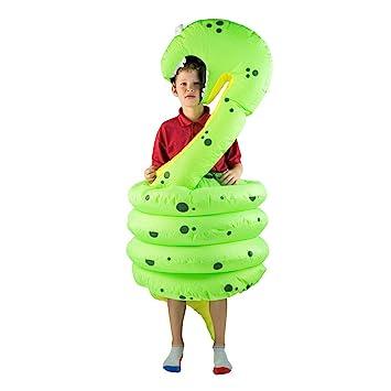 Bodysocks® Disfraz Hinchable de Serpiente Niño