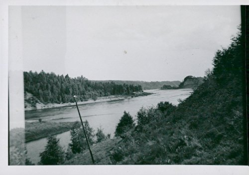 Vintage photo of The view from the campsite at197;dals camp in214;ster229;sScout movement ()