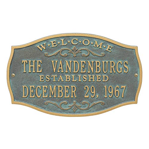 Brookfield Welcome Anniversary Personalized Plaque (Bronze ()