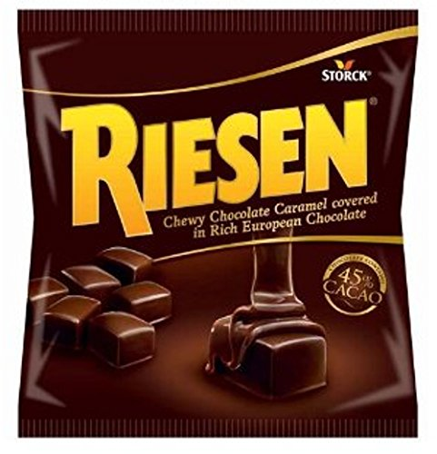 (Riesen Chewy Chocolate Caramel covered in Rich European Chocolate 2.65 oz (75 g) Chocolate Contains 45% Cacao)