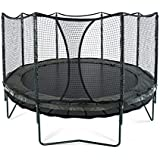 14' DoubleBounce | AlleyOOP Trampoline with Enclosure | Double the Safety, Double the Fun | 50+ Patent & Safety Innovations | Lifetime Frame Warranty