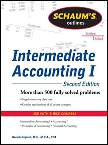 Schaums outline of intermediate accounting i second edition schaums outline of intermediate accounting i second edition schaums outlines baruch englard 9780071756068 amazon books fandeluxe Images