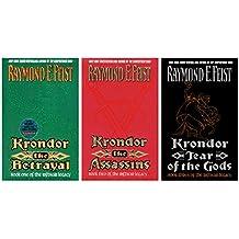The Riftwar Legacy Series Vol.1-3: Krondor the Betrayal / Krondor the Assassins / Krondor Tears of the Gods