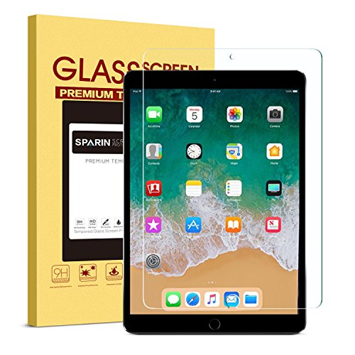 iPad Pro 10.5 Screen Protector - SPARIN Double Shielding Tem