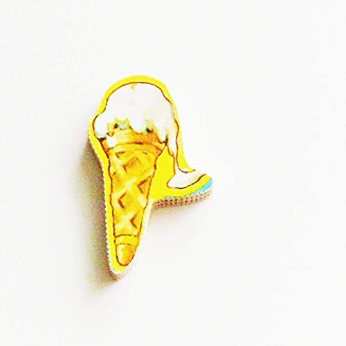 Amazon com: 1950s Ice Cream Cone Brooch - Pin / ME2Designs