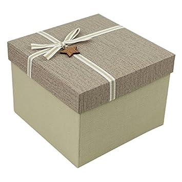 Qiaoba Carre Coxiale Boite D Emballage Cadeau D Anniversaire Boite