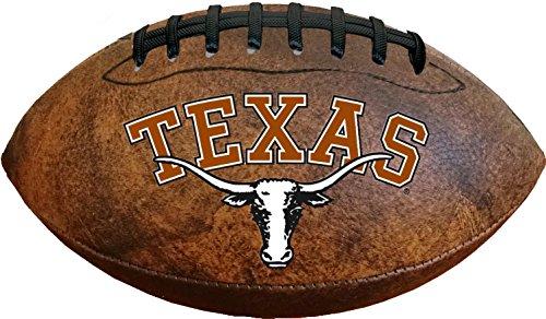 NCAA Texas Longhorns Color Logo Football , 9-Inches