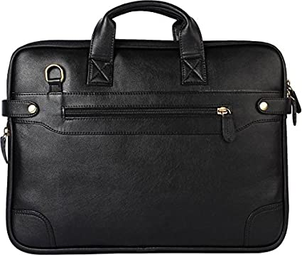 Leather Laptop Bag for Man Dragon 15.6 inch Black  Amazon.in  Electronics 1ea09c6b7387a