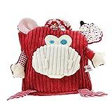 Kindergartenrucksack, Mini Rucksack Kinder Rucksack mit Namen & Wunsch-Motiv für Mädchen und Jungen