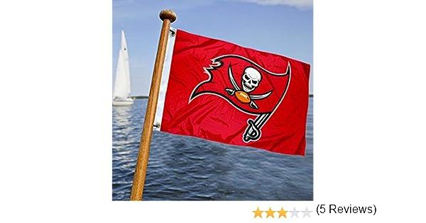 Tampa Bay Buccaneers bandera de barco y carro de golf: Amazon.es: Deportes y aire libre