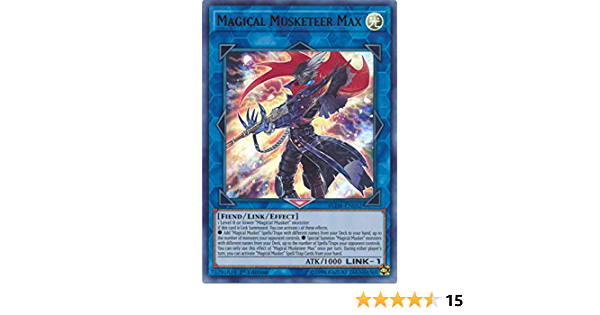 de NM Magico MOSCHETTIERE MAX blhr-de052 ULTRA RARE