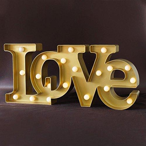 BRIGHT Wedding Decorations Marquee Golden