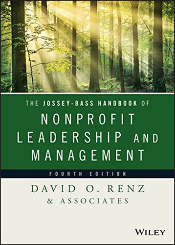 Jossey Bass Hdbk.Of Nonprofit Leader...
