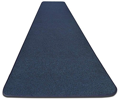Outdoor Carpet Runner - House, Home and More Outdoor Carpet Runner - Blue - 3' x 10' - Many Other Sizes to Choose From
